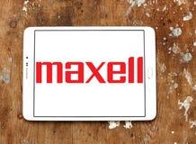 Λογότυπο επιχείρησης Maxell Στοκ φωτογραφίες με δικαίωμα ελεύθερης χρήσης