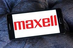 Λογότυπο επιχείρησης Maxell Στοκ Εικόνες