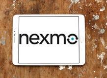 Λογότυπο επιχείρησης Nexmo Στοκ φωτογραφίες με δικαίωμα ελεύθερης χρήσης