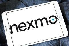 Λογότυπο επιχείρησης Nexmo Στοκ φωτογραφία με δικαίωμα ελεύθερης χρήσης