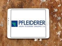 Λογότυπο επιχείρησης Pfleiderer Στοκ Εικόνα
