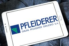 Λογότυπο επιχείρησης Pfleiderer Στοκ Φωτογραφία