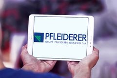 Λογότυπο επιχείρησης Pfleiderer Στοκ Εικόνες