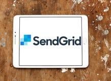 Λογότυπο επιχείρησης SendGrid Στοκ Εικόνες