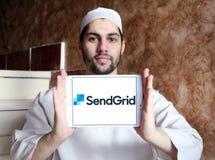 Λογότυπο επιχείρησης SendGrid Στοκ εικόνες με δικαίωμα ελεύθερης χρήσης