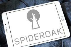 Λογότυπο επιχείρησης SpiderOak Στοκ Εικόνα