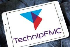 Λογότυπο επιχείρησης TechnipFMC Στοκ εικόνα με δικαίωμα ελεύθερης χρήσης