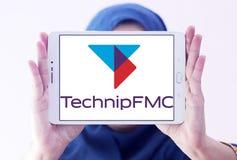 Λογότυπο επιχείρησης TechnipFMC Στοκ φωτογραφία με δικαίωμα ελεύθερης χρήσης