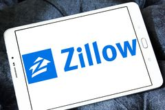 Λογότυπο επιχείρησης Zillow Στοκ εικόνες με δικαίωμα ελεύθερης χρήσης
