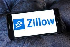 Λογότυπο επιχείρησης Zillow Στοκ εικόνα με δικαίωμα ελεύθερης χρήσης