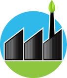 λογότυπο εργοστασίων Στοκ φωτογραφία με δικαίωμα ελεύθερης χρήσης