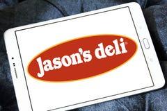 Λογότυπο εστιατορίων γρήγορου φαγητού του Jason ` s Deli Στοκ Φωτογραφίες