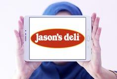 Λογότυπο εστιατορίων γρήγορου φαγητού του Jason ` s Deli Στοκ εικόνα με δικαίωμα ελεύθερης χρήσης