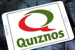 Λογότυπο εστιατορίων γρήγορου φαγητού Quiznos Στοκ φωτογραφία με δικαίωμα ελεύθερης χρήσης