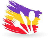 Λογότυπο εστιατορίων διανυσματική απεικόνιση