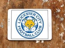 Λογότυπο λεσχών ποδοσφαίρου πόλεων Λέιτσεστερ Στοκ φωτογραφία με δικαίωμα ελεύθερης χρήσης