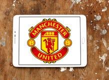 Λογότυπο λεσχών ποδοσφαίρου της Manchester United Στοκ Εικόνες