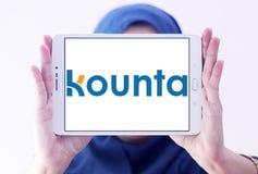 Λογότυπο εταιρείας λογισμικού Kounta Στοκ φωτογραφία με δικαίωμα ελεύθερης χρήσης