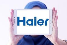 Λογότυπο εταιριών ομάδας Haier Στοκ φωτογραφίες με δικαίωμα ελεύθερης χρήσης
