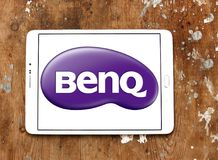 Λογότυπο εταιριών BenQ Στοκ εικόνα με δικαίωμα ελεύθερης χρήσης
