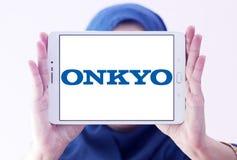 Λογότυπο εταιριών Onkyo Στοκ Εικόνα