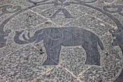 Λογότυπο ελεφάντων Στοκ εικόνες με δικαίωμα ελεύθερης χρήσης