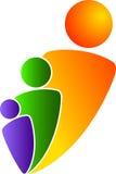 λογότυπο ζευγών Στοκ Εικόνες