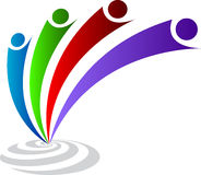 λογότυπο ζευγών Στοκ Φωτογραφίες
