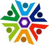 λογότυπο ζευγών Στοκ Φωτογραφία