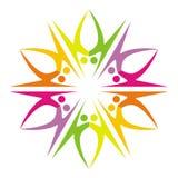 λογότυπο ζευγών Στοκ εικόνα με δικαίωμα ελεύθερης χρήσης