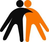 λογότυπο ζευγών Στοκ φωτογραφία με δικαίωμα ελεύθερης χρήσης