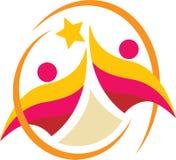 Λογότυπο ζεύγους Στοκ Φωτογραφίες