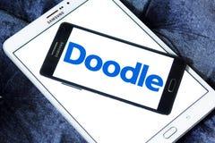 Λογότυπο ημερολογιακών εργαλείων Διαδικτύου Doodle στοκ φωτογραφία με δικαίωμα ελεύθερης χρήσης