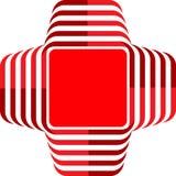 λογότυπο ιατρικό Στοκ Εικόνες