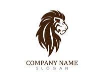 Λογότυπο 2 λιονταριών Στοκ Εικόνα