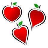 Λογότυπο καρδιών Στοκ φωτογραφίες με δικαίωμα ελεύθερης χρήσης