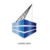λογότυπο κατασκευής Στοκ Φωτογραφίες
