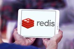 Λογότυπο καταστημάτων δομών δεδομένων Redis Στοκ φωτογραφίες με δικαίωμα ελεύθερης χρήσης