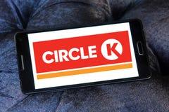 Λογότυπο καταστημάτων κύκλων Κ Στοκ Φωτογραφία