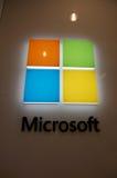 Λογότυπο καταστημάτων του Microsoft Windows Στοκ φωτογραφίες με δικαίωμα ελεύθερης χρήσης