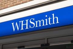 Λογότυπο καταστημάτων WHSmith στοκ εικόνα με δικαίωμα ελεύθερης χρήσης