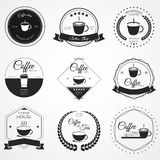 Λογότυπο καφέ Απεικόνιση αποθεμάτων