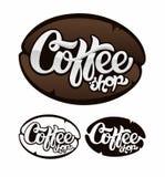 Λογότυπο καφέ Στοκ εικόνα με δικαίωμα ελεύθερης χρήσης