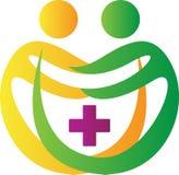 Λογότυπο κλινικών ελεύθερη απεικόνιση δικαιώματος