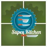 Λογότυπο κουζινών διανυσματική απεικόνιση