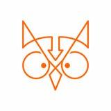 Λογότυπο κουκουβαγιών Στοκ Εικόνες