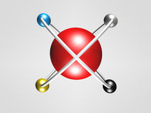 Λογότυπο κύκλων Στοκ φωτογραφίες με δικαίωμα ελεύθερης χρήσης
