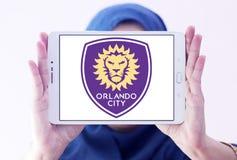 Λογότυπο λεσχών ποδοσφαίρου πόλεων του Ορλάντο Στοκ φωτογραφίες με δικαίωμα ελεύθερης χρήσης
