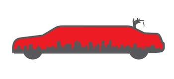 λογότυπο λιμουζινών Στοκ Φωτογραφία