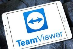 Λογότυπο λογισμικού υπολογιστών TeamViewer Στοκ Εικόνες